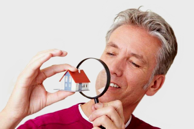 Termite Inspections - Man with Magnifying Glass